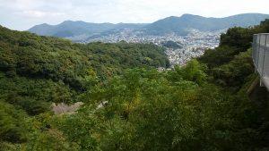 青山町からの景観