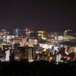 きらめく長崎市の夜景
