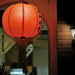 ランタンフェスティバル赤とランプ