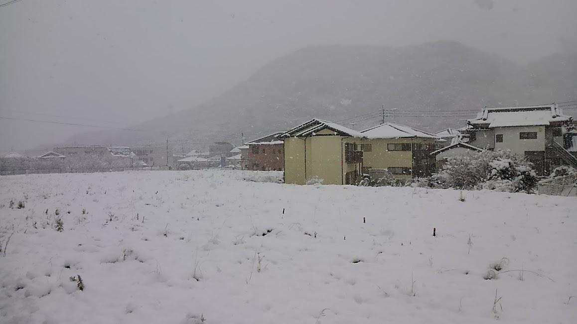 20180111時津日並の雪景色