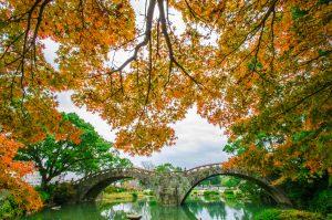 諫早市の眼鏡橋